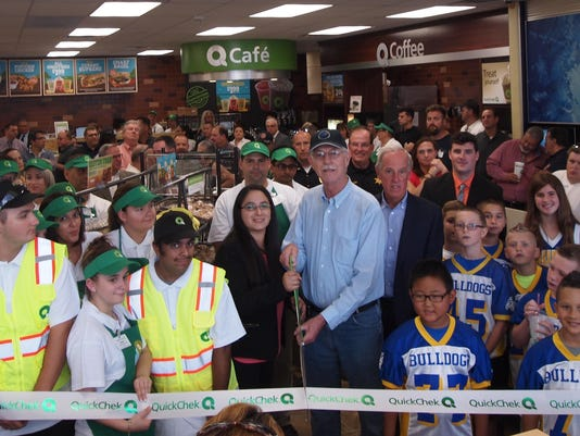 QuickChek Butler ribbon cutting 23N