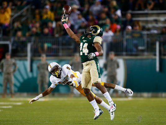 NCAA Football: Wyoming at Colorado State