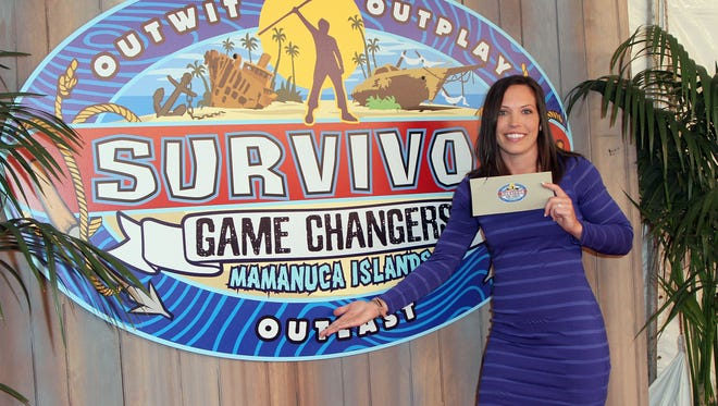 Sarah Lacina is officially a 'Game Changer.'