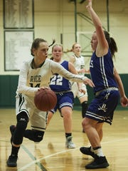 Standout Lisa Sulejmani returns to lead the Rice High School girls basketball team.