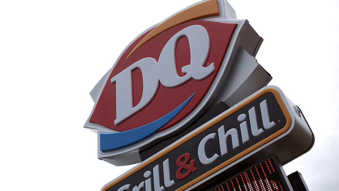 A Dairy Queen store is shown October 10, 2014 in Charlotte Hall, Maryland.