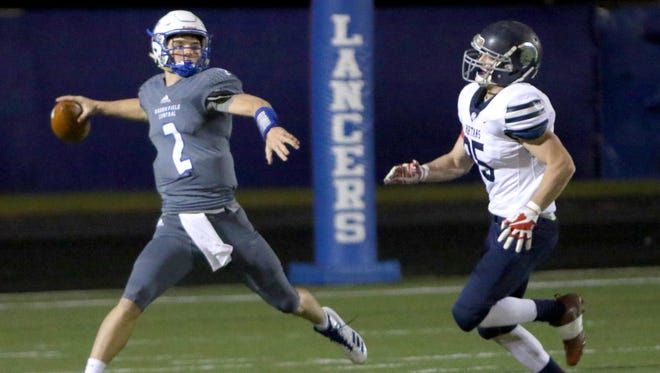 Quarterback Drew Leszczynski helped lead Brookfield Central to the state semifinals with a victory over rival Brookfield East.