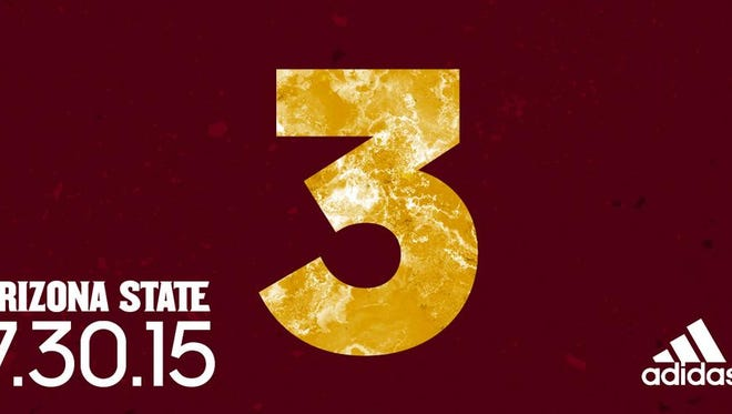 ASU's new Adidas jerseys will be unveiled Thursday.