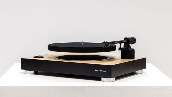 A levitating turntable is what the world may or may not need.