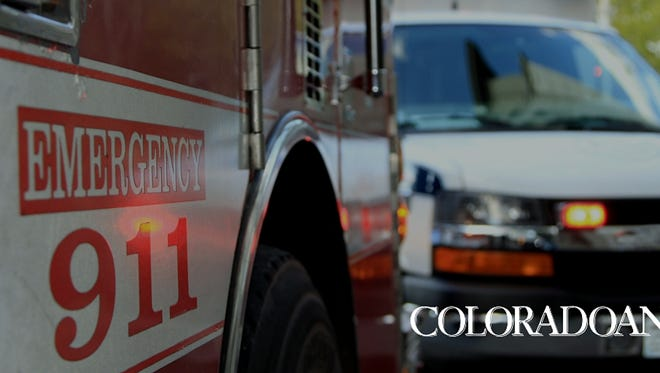 Colorado officials say a person has died after falling an estimated 60 feet while rock climbing.