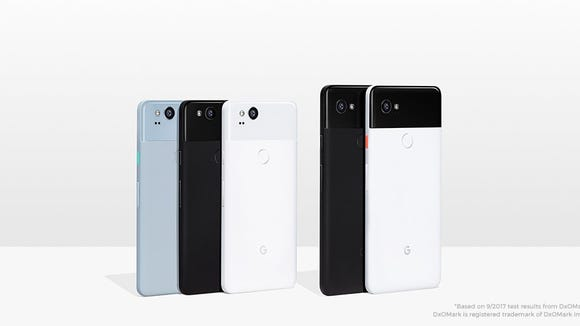 The Google Pixel 2 and the Google Pixel 2 XL