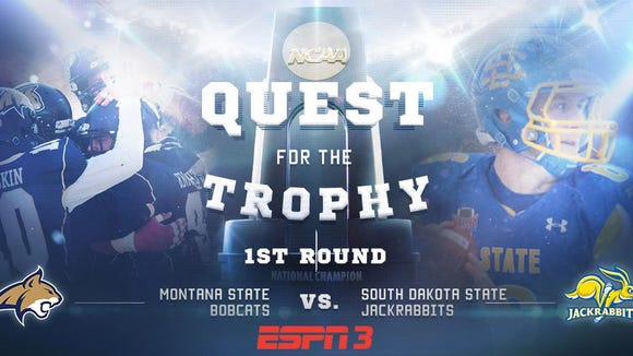 SDSU will visit Montana State in Round 1 of the FCS