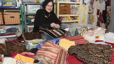 Handmade: Fabric collector plans to 'thin out' stash
