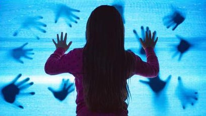 """Kennedi Clements in a scene from the 2015 motion picture """"Poltergeist."""""""