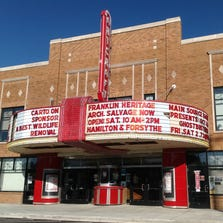 The Historic Artcraft Theatre was was built in 1922 as Franklin's first-run silent movie and vaudeville house. It is on this year's historic home tour in Franklin.