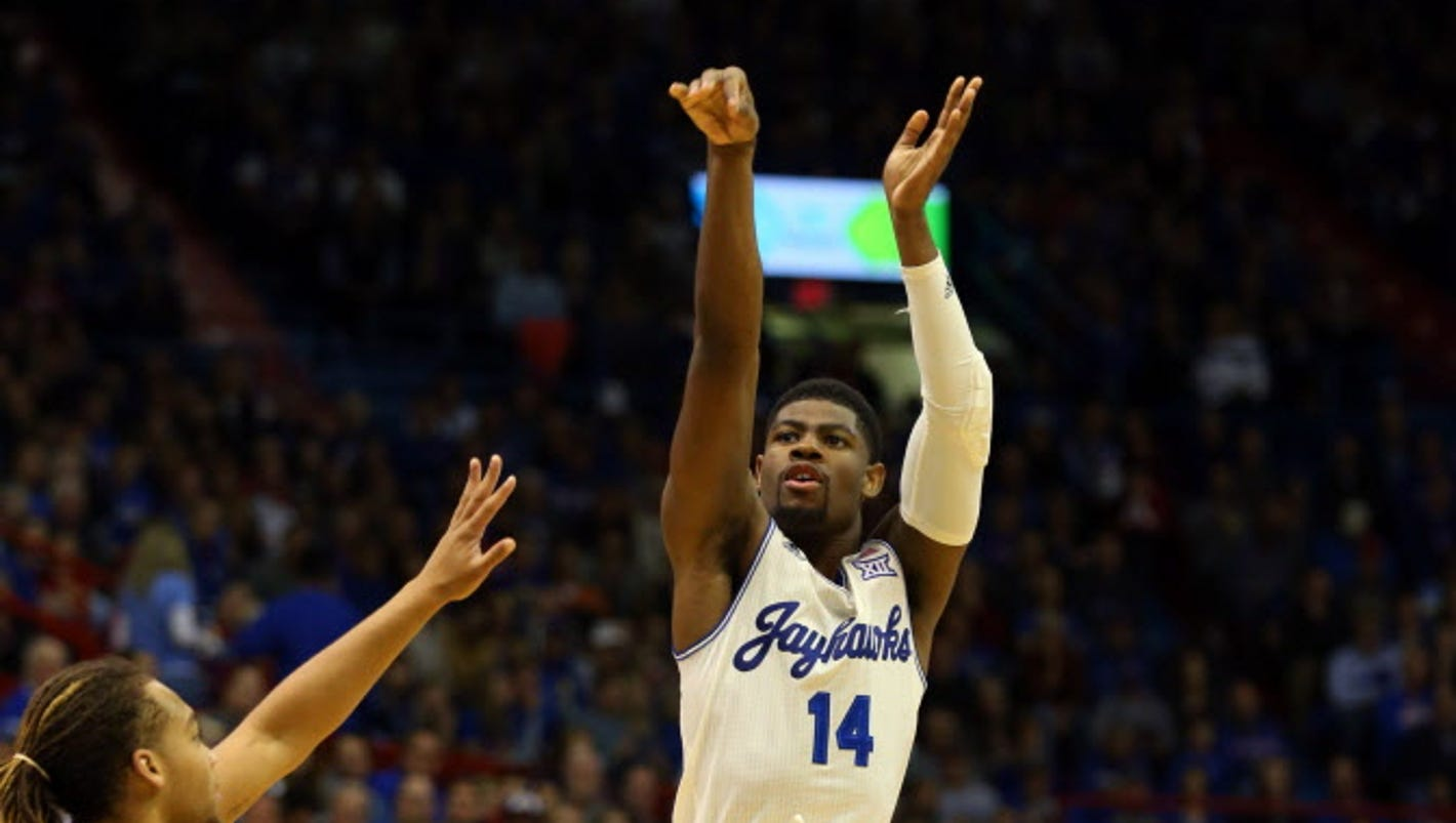 No. 2 Kansas sets school 3-point record in rout against Texas Southern