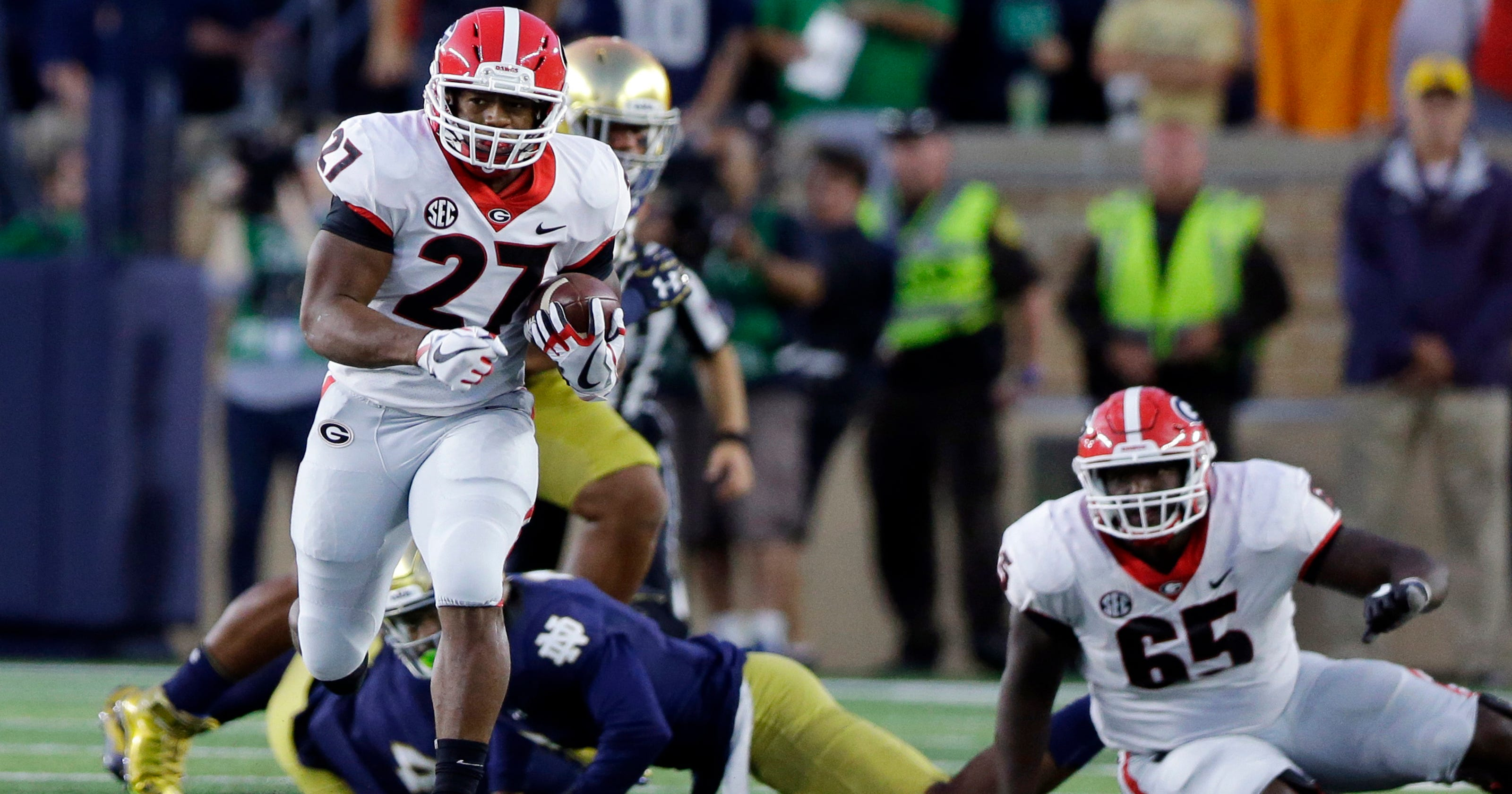 Georgia s Nick Chubb is college football s most unfairly overlooked  superstar 2f645ba9f