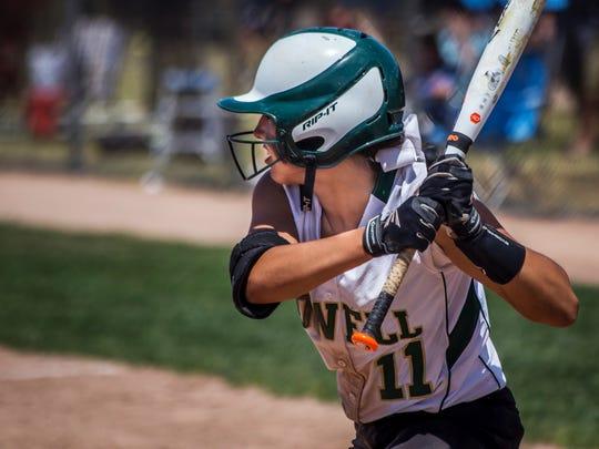 Howell's Veronica Pezzoni extended her hitting streak