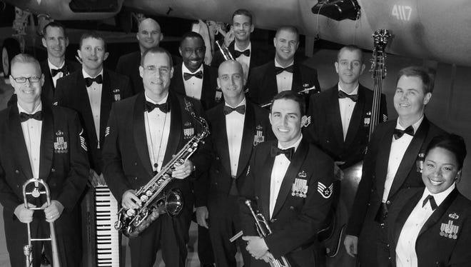 The U.S. Air Force Rhythm in Blue Jazz Ensemble.