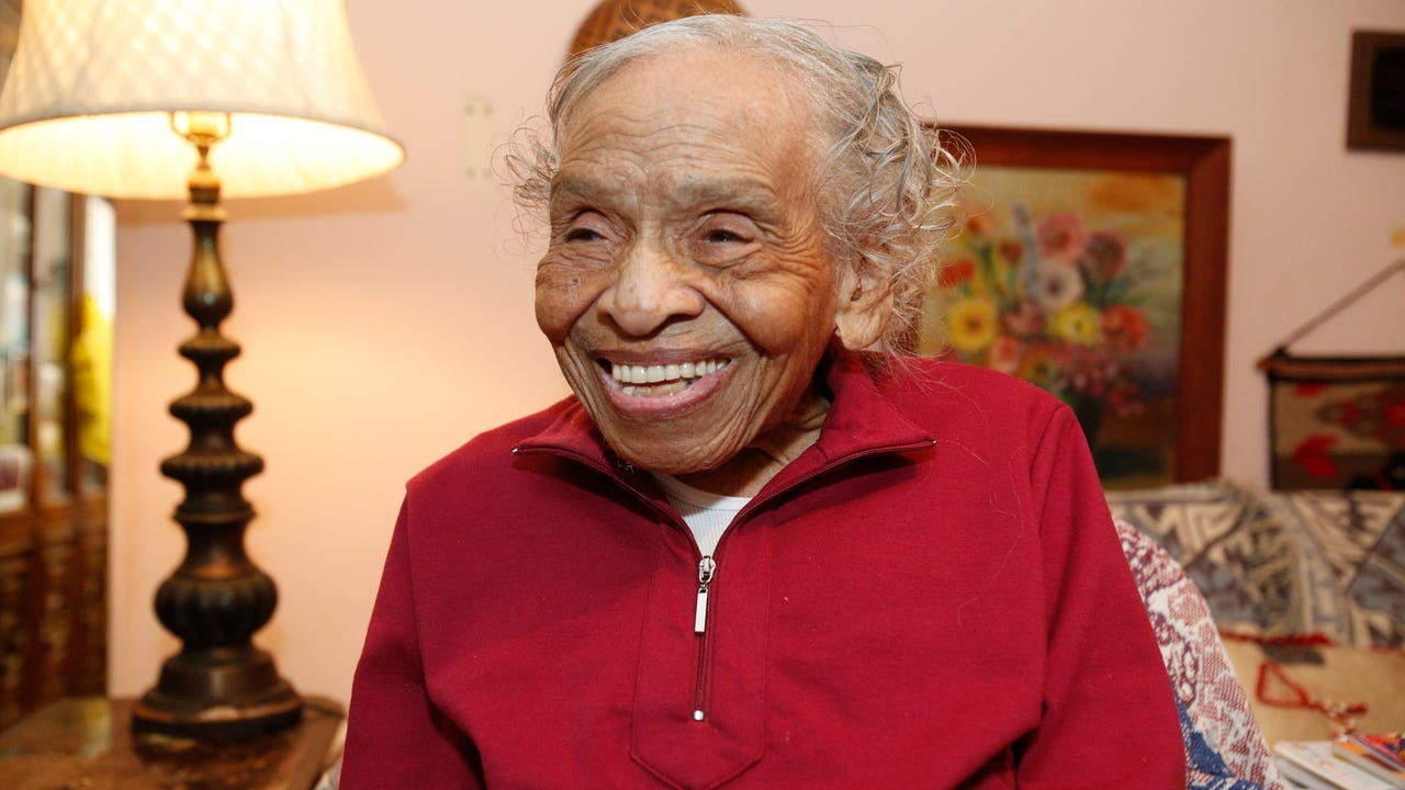 Dr. Olivia Hooker, 102, from Greenburgh was a witness to the Tulsa massacre and was the first Black woman to join the U.S Coast Guard.