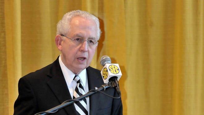 SEC Commissioner Mike Slive.