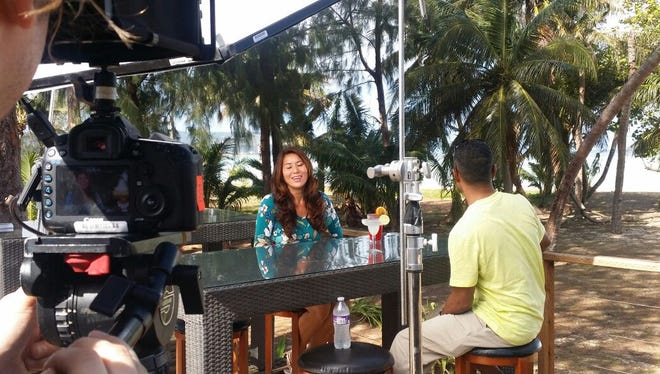 Guam realtor Norma Del Carmen was featured Monday night on the HGTV show Beachfront Bargain Hunt. It was Del Carmen's second appearance on the show. Del Carmen said after the new episode appeared in the mainland, she began receiving calls  about prospective beachfront property buyers.