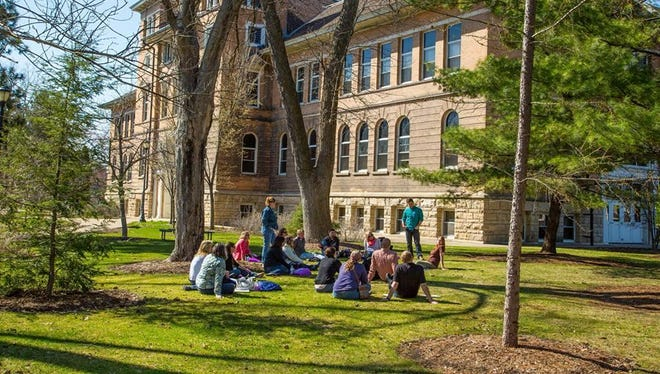 Area students at the University of Wisconsin-Stevens Point were recently honored for academic achievement by various departments.