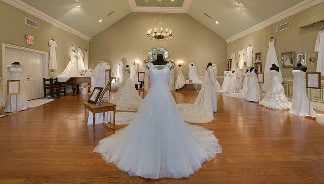 'Wedding Dresses Through the Decades' goes up on display Jan. 10, 2016.