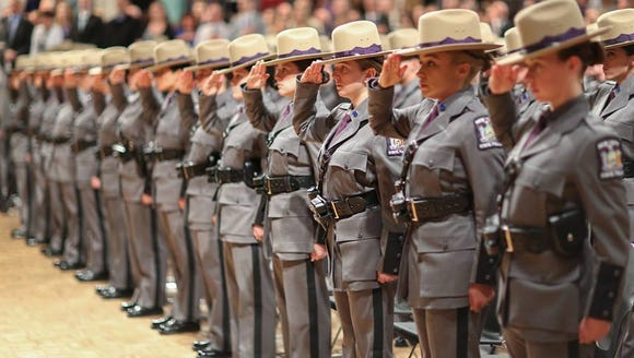 More than 190 new troopers joined the ranks of the