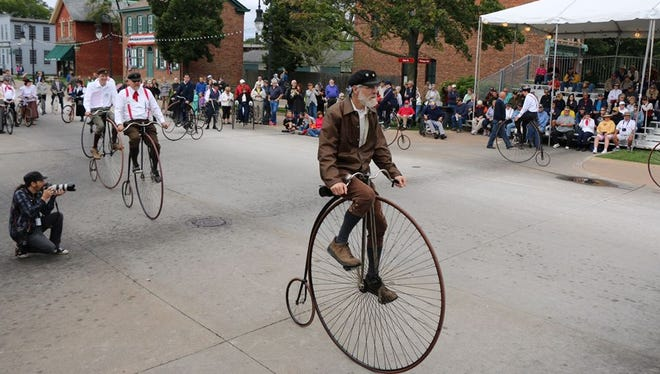 The Ohio Wheelmen, a group dedicated to keeping the heritage of cycling alive, will be at Spiegel Grove on Saturday.