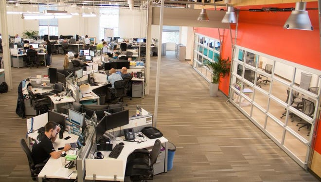 At Asurion, there's no such thing as the corner office. Each Asurion employee work in open, collaborative environments.