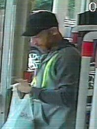 Police are looking for a man suspected of taking $200 dollars in cigarettes on July 5 from Walgreens, 2101 S. Queen St., York Township.