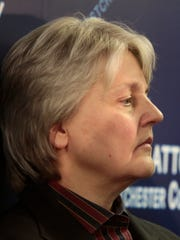 Westchester County Assistant District Attorney Patricia Murphy at a press conference after the conviction of Lacey Spears at the Westchester County District Attorneys office in White Plains on March 2, 2015.