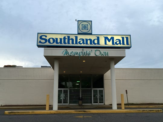 The Southland Mall recently sold in bankruptcy for $4.3 million, but remains open and looking for new tenants. (Thomas Bailey/The Commercial Appeal)