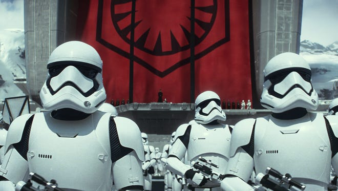 "Don't expect to be dressed like a stormtrooper during ""The Force Awakens"" screenings."