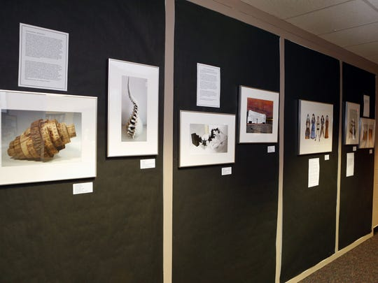 The AP Studio Art national exhibit, which features