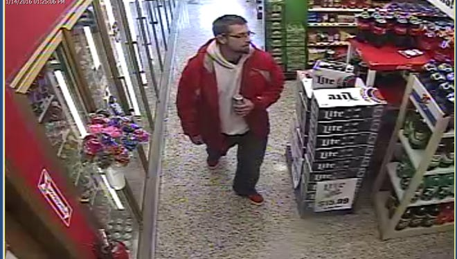 Hendersonville police are seeking the public's help locating a suspect in an armed robbery Thursday afternoon at Triangle Stop convenience store.