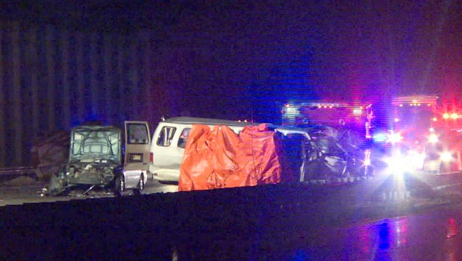 The investigation continues early Sunday, November 29, 2015, into a triple-fatal accident that occurred on Route 287 northbound in Bernards Township at 10:32pm Saturday.