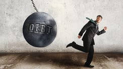 Debt has a way of catching up with you.