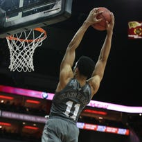 Mississippi State is headed to Madison Square Garden after beating Louisville
