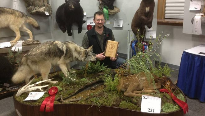 The Wisconsin Taxidermy Championships are being held this weekend at the Holiday Inn Hotel & Convention Center in Stevens Point.