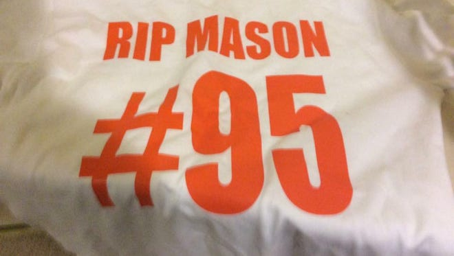 Students at Louis L. Redding Middle School will wear orange this week, Mason Scott Farro's favorite color. Farro died in a motor-bike accident over the weekend.