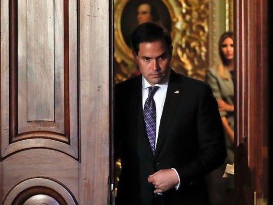 Sen. Marco Rubio, R-Fla
