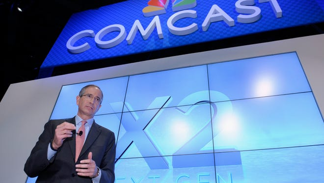 Comcast Corp. CEO Brian Roberts during The Cable Show 2013 convention in Washington.