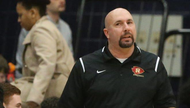 Riverdale basketball coach Michael Voss