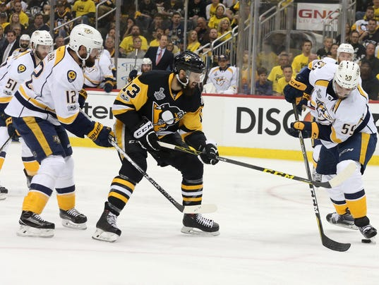 NHL: Stanley Cup Final-Nashville Predators at Pittsburgh Penguins