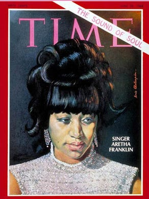 Aretha Franklin was on the cover of TIME magazine June