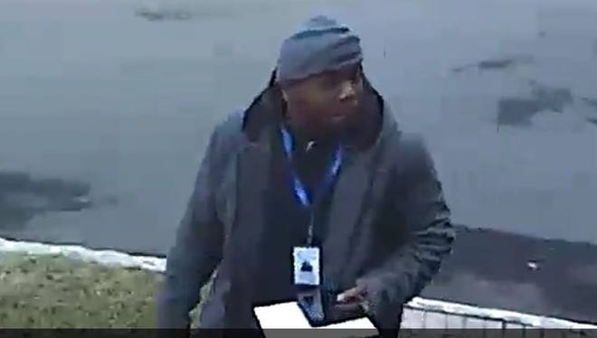A suspect wanted by the Watchung and North Plainfield police departments in connection to a robbery.