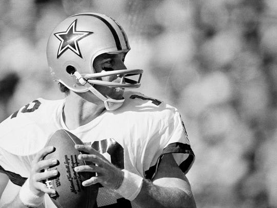 USA Today named Roger Staubach the greatest Dallas Cowboy of all time.
