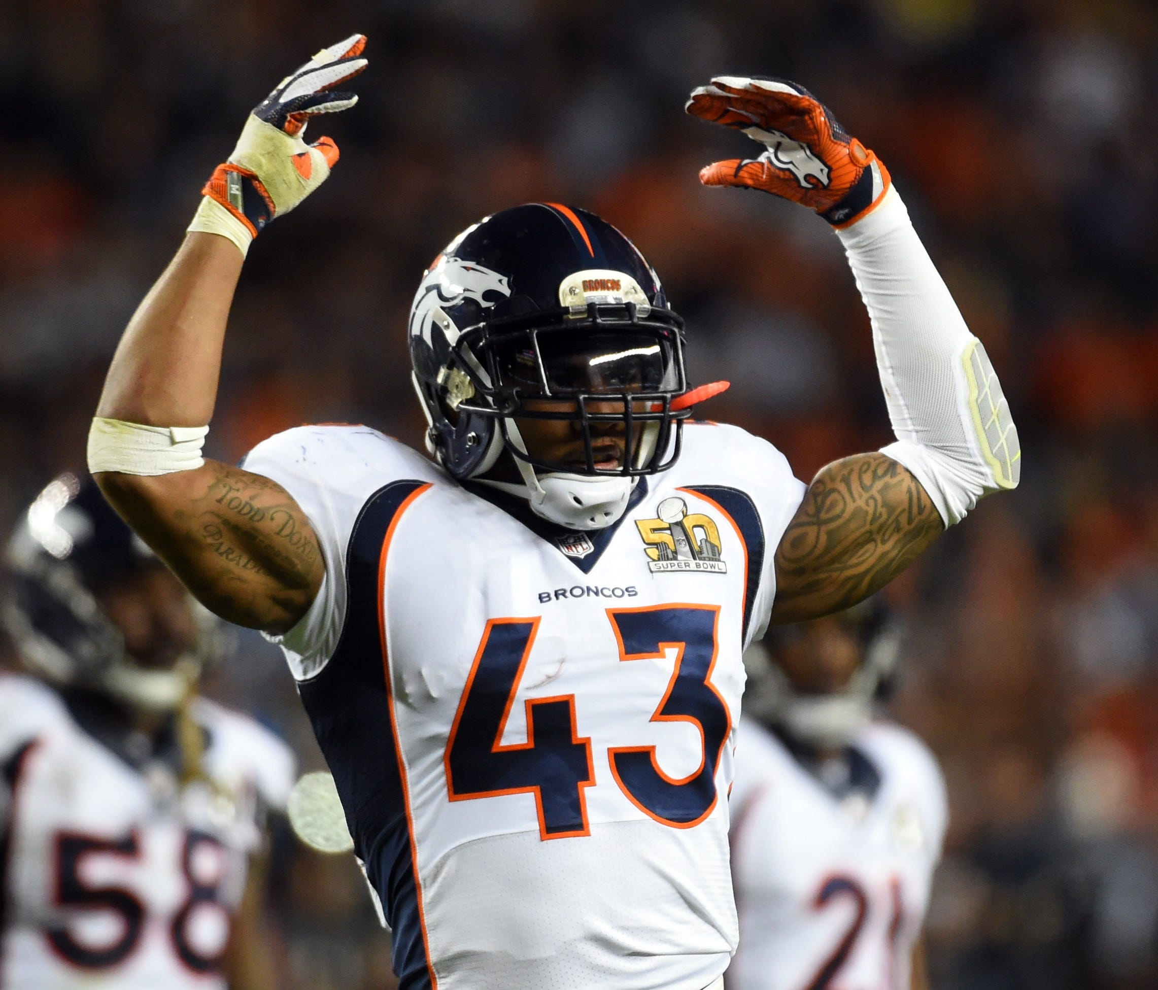 S T.J. Ward is entering his eighth NFL season.