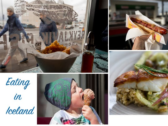 There is plenty to eat in Iceland. You have to try
