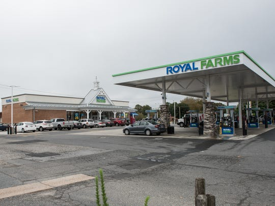 An exterior view of the Royal Farms on the corner of Beaglin Park Drive and Snow Hill Road on Wednesday, Sept. 27, 2017.