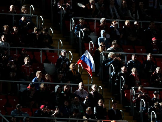 Russia isn't exactly a hotbed of soccer support. Teams