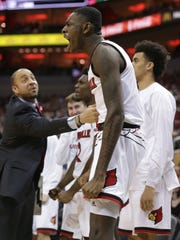 Lance Thomas averaged 2.2 points and 1.3 rebounds as a freshman for Louisville last season.