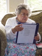 Helen Powell, 95, of Johnson City was a life-long learner who loved reading.